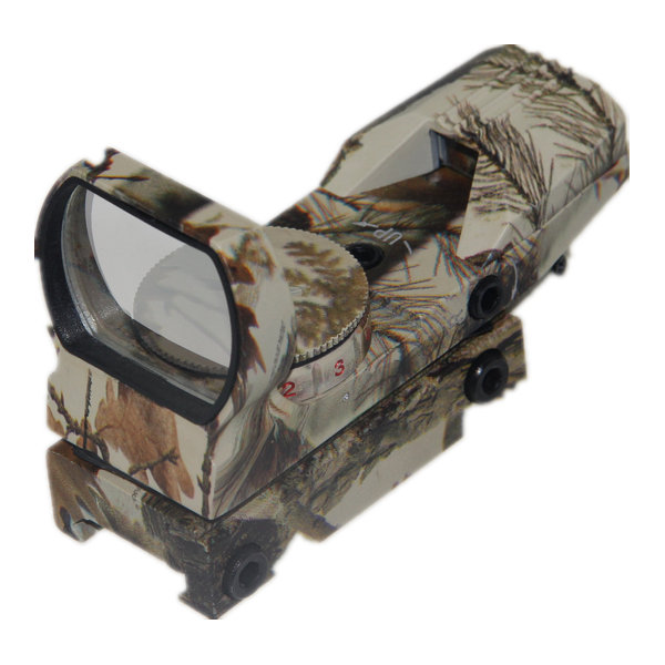 Camo Tactical 4 Reticle Reflex Micro Dot Sights 1x22x33 Red and Green Dot Scope L1x22x33MC
